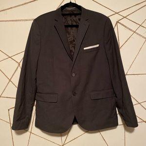 H&M Charcoal Gray Blazer Slim Fit